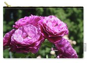 Roses Art Rose Garden Pink Purple Floral Prints Baslee Troutman Carry-all Pouch