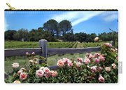 Roses At Rusack Vineyards Carry-all Pouch