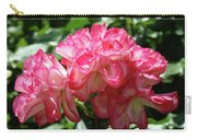 Roses Bouquet Pink White Rose Flowers 2 Rose Garden Baslee Troutman Carry-all Pouch