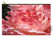 Roses Cinnamon Pink Rose Flowers 3 Rose Garden Art Baslee Troutman Carry-all Pouch