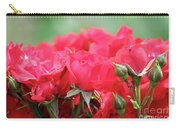 Roses Close Up Nature Spring Scene Carry-all Pouch