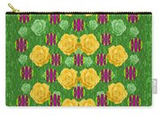 Roses Dancing On A Tulip Field Of Festive Colors Carry-all Pouch
