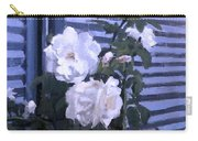 Roses De Lignes Bleues Carry-all Pouch