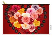 Roses For My Dear Love Carry-all Pouch