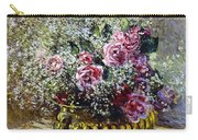 Roses In A Copper Vase Carry-all Pouch