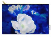 Roses In Bllue Carry-all Pouch