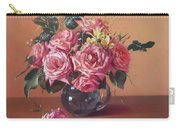 Roses In Glass Carry-all Pouch