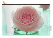 Roses In Green Jars Carry-all Pouch