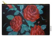 Roses In The Classic Style Carry-all Pouch