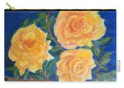 Roses In Yellow Carry-all Pouch