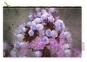 Roses Lilac And Shabby Pink Carry-all Pouch