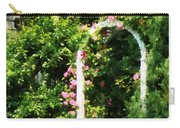 Roses On Trellis Carry-all Pouch