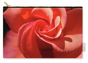 Roses Orange Rose Flower Spiral Artwork 4 Rose Garden Baslee Troutman Carry-all Pouch