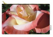 Roses Pink Creamy White Rose Garden 5 Fine Art Prints Baslee Troutman Carry-all Pouch