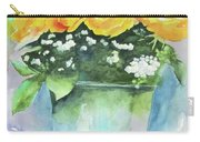 Roses Row Carry-all Pouch