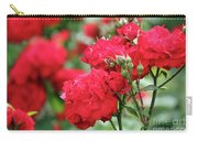 Roses Spring Scene Carry-all Pouch