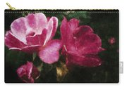 Roses With Texture Carry-all Pouch