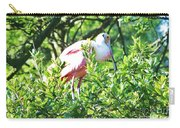 Rosette Spoonbill Carry-all Pouch