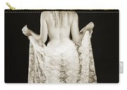 Rosie Nude Fine Art Print In Sensual Sexy 4613.01 Carry-all Pouch