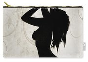 Rosie Nude Fine Art Print In Sensual Sexy 4639.01 Carry-all Pouch