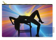 Rosie Nude Fine Art Print In Sensual Sexy Color 4689.02 Carry-all Pouch