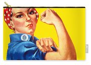 Rosie The Rivetor Carry-all Pouch by War Is Hell Store