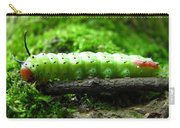 Rosy Maple Moth Caterpillar Carry-all Pouch