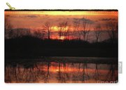 Rosy Mist Sunrise Carry-all Pouch