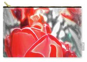 Rosy Swirl Carry-all Pouch