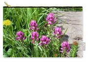 Rosy Wildflowers Carry-all Pouch