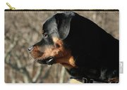 Rottie Profile Carry-all Pouch