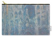 Rouen Cathedral, The Portal, Morning Light Carry-all Pouch