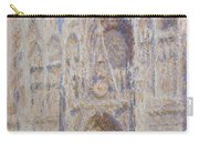 Rouen Cathedral, The Portal, Sunlight Carry-all Pouch