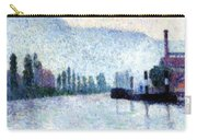 Rouen La Seine Et Les Collines Canteleu 1887 Carry-all Pouch