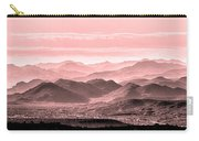 Rouge Hills Of The Tonto Carry-all Pouch