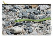 Rough Green Snake Carry-all Pouch
