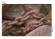 Rough Hewn Chain Carry-all Pouch