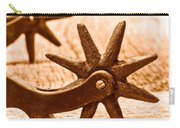 Rough Spurs - Sepia Carry-all Pouch