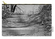 Rough Steps Up The Riverbank Carry-all Pouch