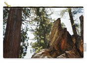 Round Meadow Giant Sequoia Carry-all Pouch