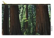 Round Meadow Sequoia Family Portrait Carry-all Pouch