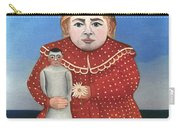 Rousseau: Child/doll, C1906 Carry-all Pouch