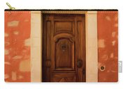 Roussillon Red And Door Carry-all Pouch