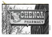 Route 66 - Chenoa Pharmacy Bw Carry-all Pouch