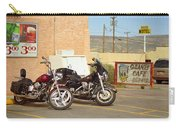 Route 66 - Grants New Mexico Motorcycles Carry-all Pouch
