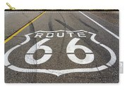 Route 66 Highway Sign Carry-all Pouch
