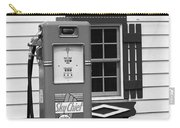 Route 66 - Illinois Vintage Pump Bw Carry-all Pouch