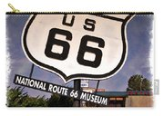 Route 66 Museum - Impressions Carry-all Pouch