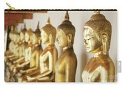 Row Of Buddhas Carry-all Pouch