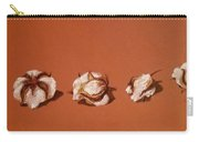 Row Of Cotton Carry-all Pouch